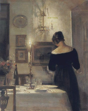 Carl holsoe  In the Dining Room