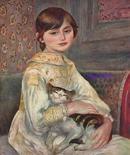 「ジュリー・マネ (猫を抱く子ども )」 1887年