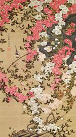 『薔薇小禽図』~「花鳥-愛でる心、彩る技 <若冲を中心に>」第5期:8月12日(土)~9月10日(日)